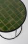 GLAZED SIDE TABLE - Green