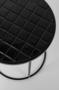 GLAZED SIDE TABLE - Black