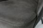 BEPUREHOME - VOGUE fauteuil leer - Zwart_