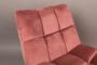 BAR LOUNGE CHAIR  - Fluweel Old Pink_