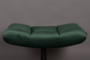 BAR LOUNGE HOCKER  - Fluweel Green_
