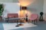 SPIKE FAUTEUIL - Pink_