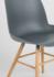 Zuiver stoel houten poten