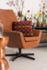 Lounge stoel cognac