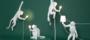 SELETTI - Monkey Lamp - Zittend_