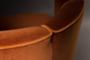 Dutche Bone Lounge stoel oranje