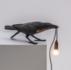 SELETTI - Bird lamp black - playing_