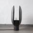 101 CPH - CLAM OXIDIZED table lamp _